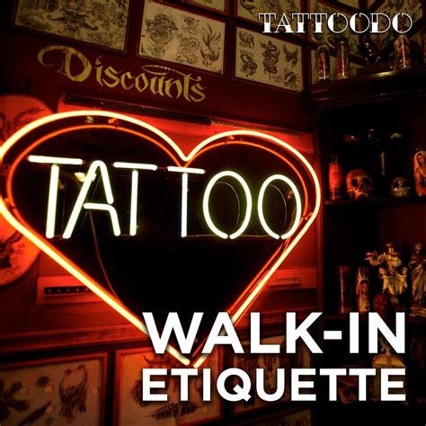 tattoo shop etiquette guides tattoodo