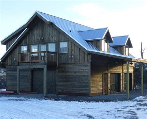 barns with lofts apartments horse barn with apartment the denali barn apartment 36