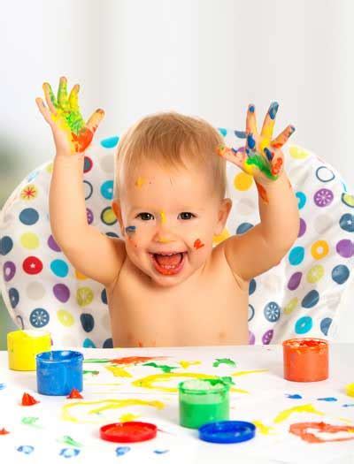 Finger Painting A Brilliant Activity For Babies And