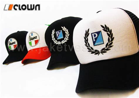 Topi Trucker Wonderful Indonesia topi trucker motif vespa clown clothing jaket vespa