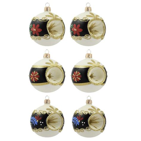 vitbis ornaments vitbis 6 pack colors finishes assorted ornament set at lowesforpros