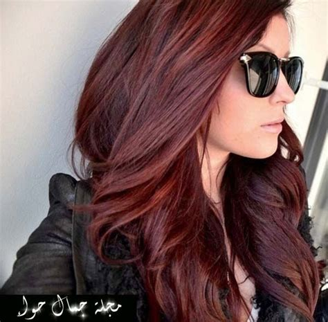 if i use a medium golden mahogany over blonde highlights wil my hair come out dark بالصور أحدث ألوان صبغات شعر 2014 2015 مجلة جمال حواء