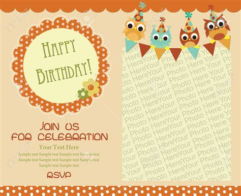 Birthday Invitation Cards Design Templates