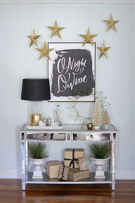 decoracion navide a de interiores decoraciones navidenas en color dorado y amarillo 10