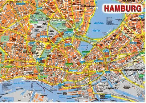 hamburg karte hamburg karte bundesl 228 nder landkarte deutschland