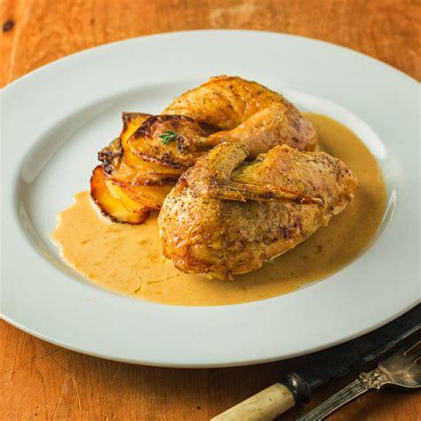 cornish hen with mustard cream sauce glebe kitchen