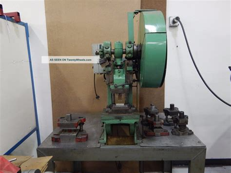 bench punch press bench master 173 10 ton punch press