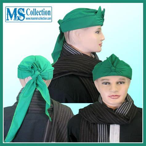Iket Sunda Praktis Mahkota Wangsa Ms0307e jual iket sunda praktis bendo hijau polos mahkota