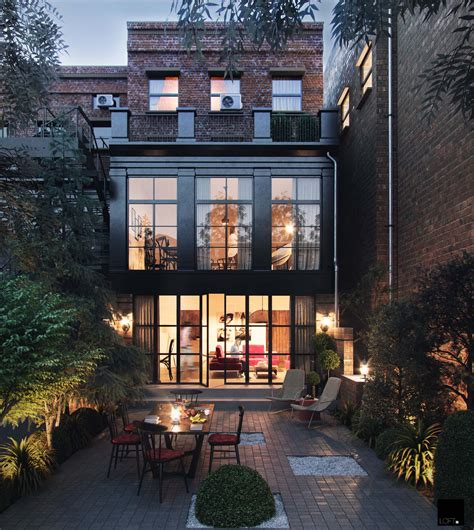 black bricks ronen bekerman  architectural