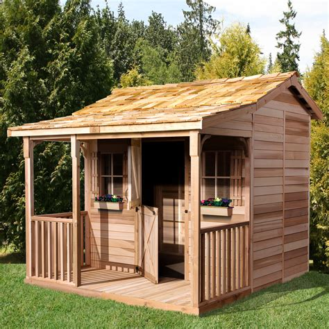 cedar shed bunkhouse shed lowes canada