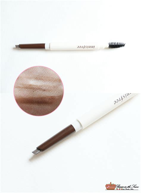 Harga Innisfree Eco Eyebrow Pencil review innisfree eco eyebrow pencil berries in the snow