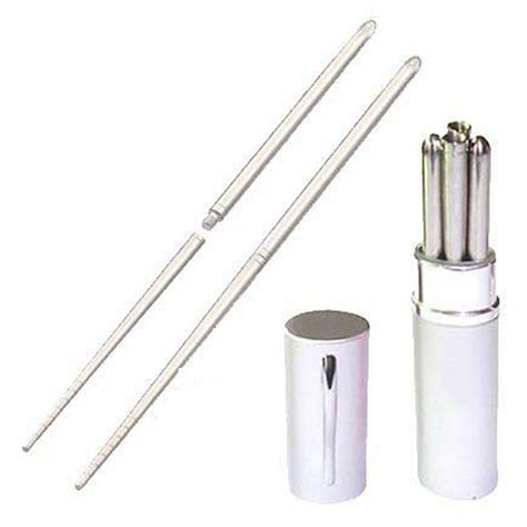 german imports of high grade aluminum l shaped shower aluminum pen shape shell stainless steel folding travel