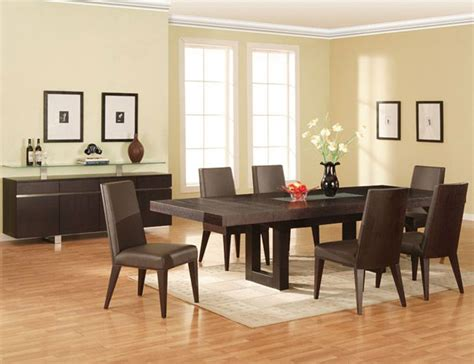 Contemporary Dining Room Sets modern dining room sets d s furniture