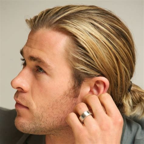 teen guy actors with ponytails the man ponytail ponytail styles for men