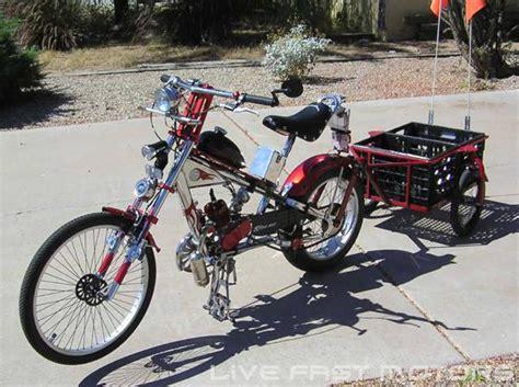 80cc Bike Motor Kit by 80cc Bicycle Motor Kit Occ Chopper Gas Motorized Bike Ebay