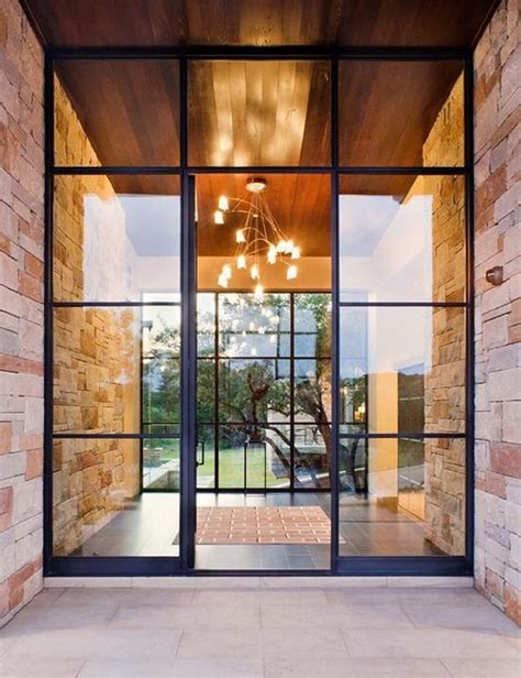Glass Front House by 28 Beautiful Glass Front Doors For Your Entry Shelterness