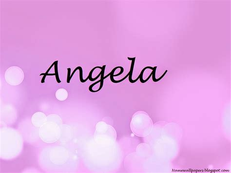 angela  wallpaper gallery