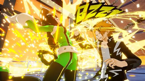 hero academia  justice screenshots feature tsuyu