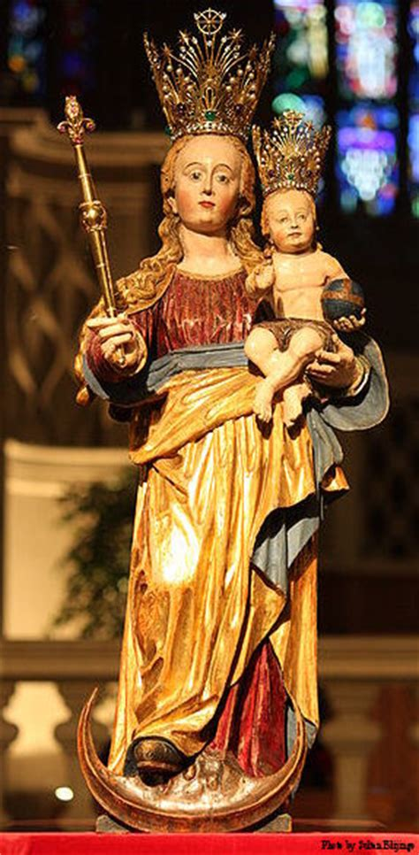our lady comforter of the afflicted luxembourg royal family on pilgrimage to our lady
