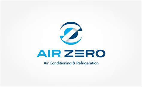 layout and logo logo design air zero air conditioning refrigeration