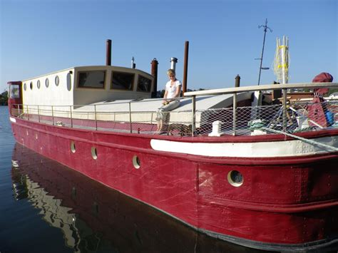 houseboat devon 1923 humber keel barge houseboat power new and used boats