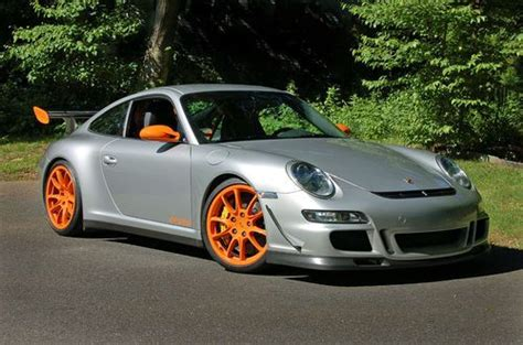 Porsche Gt3 Rs For Sale Usa by Sell Used 2007 Porsche 911 Gt3 Rs In Silver Orange In