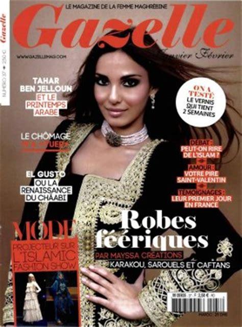 magazine gazelle cuisine le magazine quot gazelle quot interdit au maroc