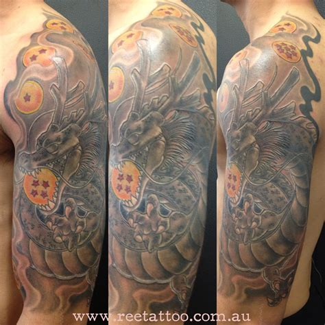 shenron tattoo shenron arm www imgkid the image kid has it