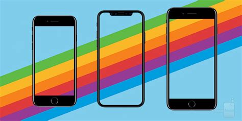 apple iphone x vs iphone 8 vs iphone 8 plus here are all the specs differences phonearena