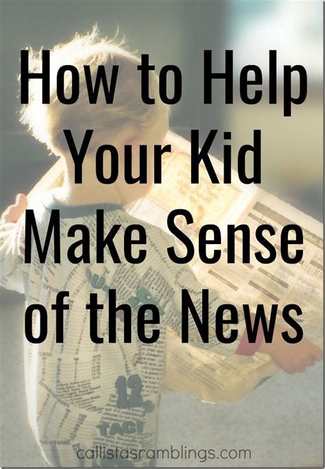 decode your how to make sense of your symptoms and start living your best books help your kid make sense of the news callista s ramblings