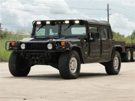 2002 hummer h1 suv 113459 purchase used 2002 hummer h1 open top 4 passenger 6 5l diesel all original tx in houston texas