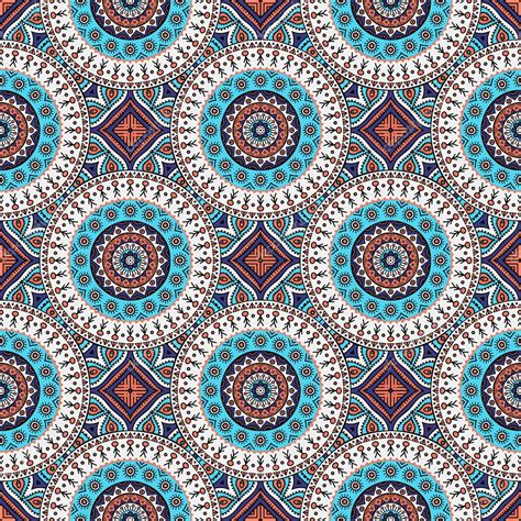 seamless pattern indian indian seamless floral pattern vintage decorative