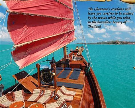 boat tour koh samui koh phangan chantara junk boat tour thailand koh samui