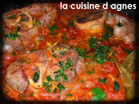 la cuisine d agnes osso buco de veau blogs de cuisine