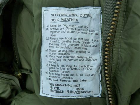 Arms Length Co Sleeper by Canadian Army Arctic Sleeping Bag Allpoints Outdoors