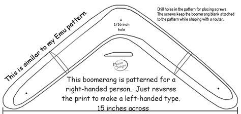 How Do You Make A Boomerang Out Of Paper - basics of a boomerang
