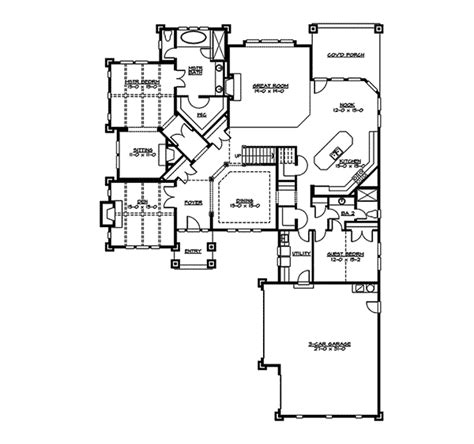 mozart point craftsman home plan 071s 0011 house plans