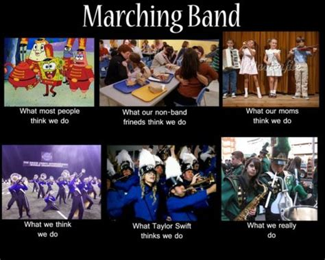 Band Kid Meme - without music life would b perspectives on marching band