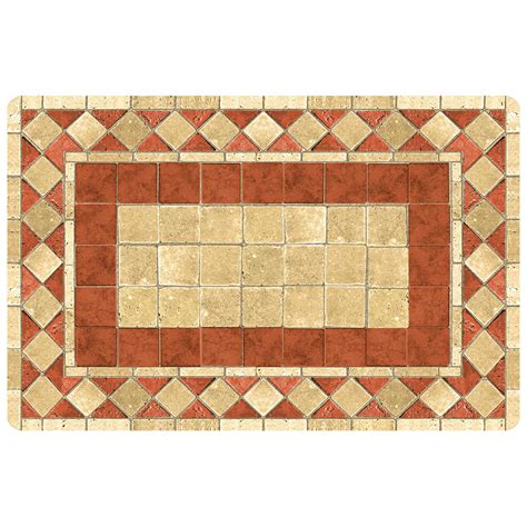 mosaic rug patterned floor mat mosaic in patterned rugs