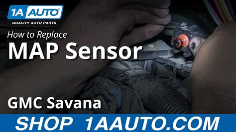 replace  map manifold absolute pressure sensor