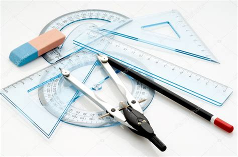 5 Drawing Instruments by Drawing Instruments Stock Photo 169 Marcomayer 1898911