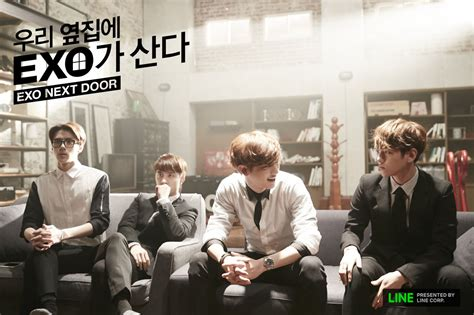 naskah film exo next door exo s web drama exo next door to be aired as small