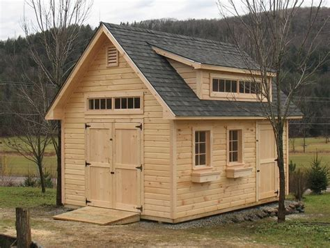 Best Roof Pitch For Shed by This Is A 12x16 Shed With A 45 Degree Roof Pitch The Siding Is Novelty 6 Quot The Roof Dormer Is