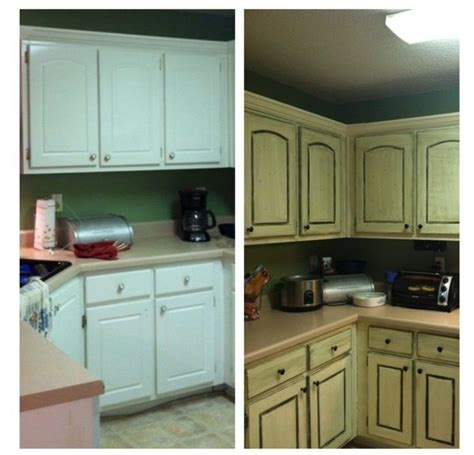 Diy Antiquing Kitchen Cabinets 60 Best Images About Kitchen Cabinets On Pinterest White Distressed Cabinets Painted China