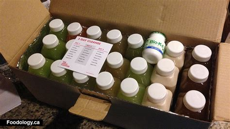 Detox Juice Seattle by The Juice Cleanse 3 Day Cleanse Foodology