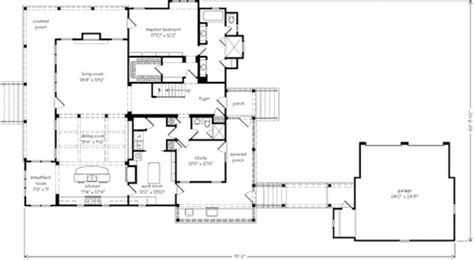 Tucker Bayou St Joe Land Company Print Southern 2007 Southern Living Idea House Plans