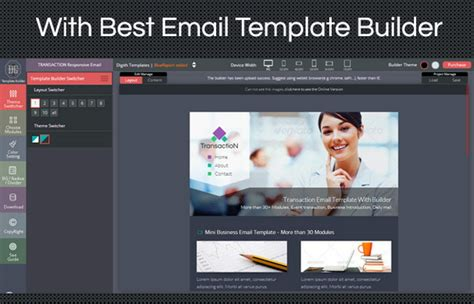 free html email template builder 35 best responsive html email templates free premium