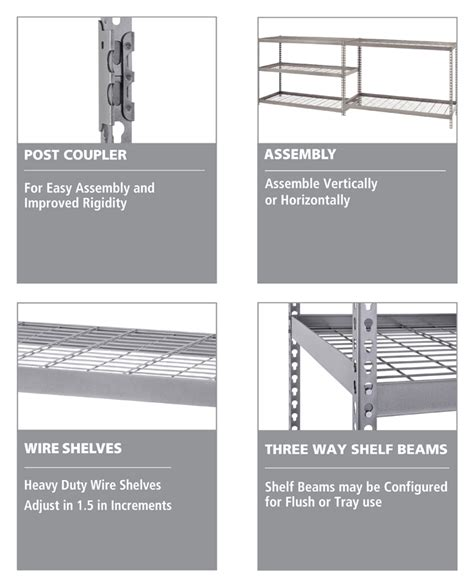 Husky 5 Shelf Heavy Duty Storage Unit by 100 Heavy Duty Shelving Home Depot Hdx 5 Shelf 36