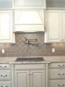 Subway tile backsplash gray kitchen island kohler farm house sink
