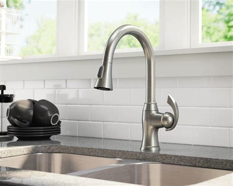 air in kitchen faucet 2018 5 best pull kitchen faucet reviews 2018 top